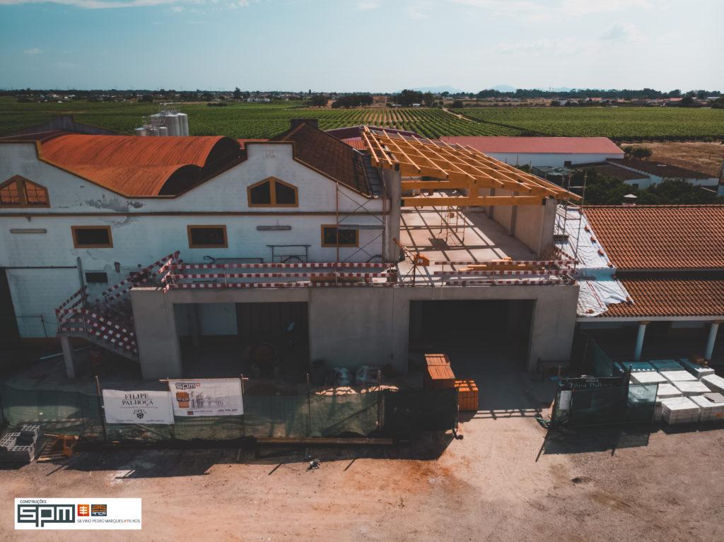 Mais uma vez o departamento de engenharia da SPM construções em grande destaque, desta vez com esta obra complexa na Adega Filipe Palhoça