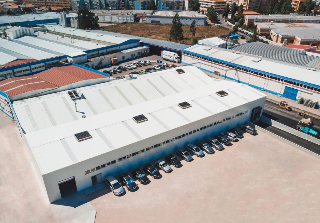 Pavilhão Industrial e acessibilidades concluídas, em Sintra.