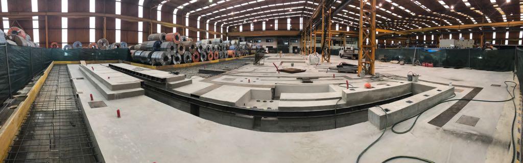 Veja a evolução de mais uma obra industrial concluída pela SPM, esta semana!