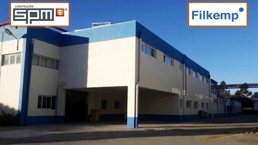 Conclusão da Ampliação do Edificio-A na Fábrica FILKEMP em Sintra-Lisboa!