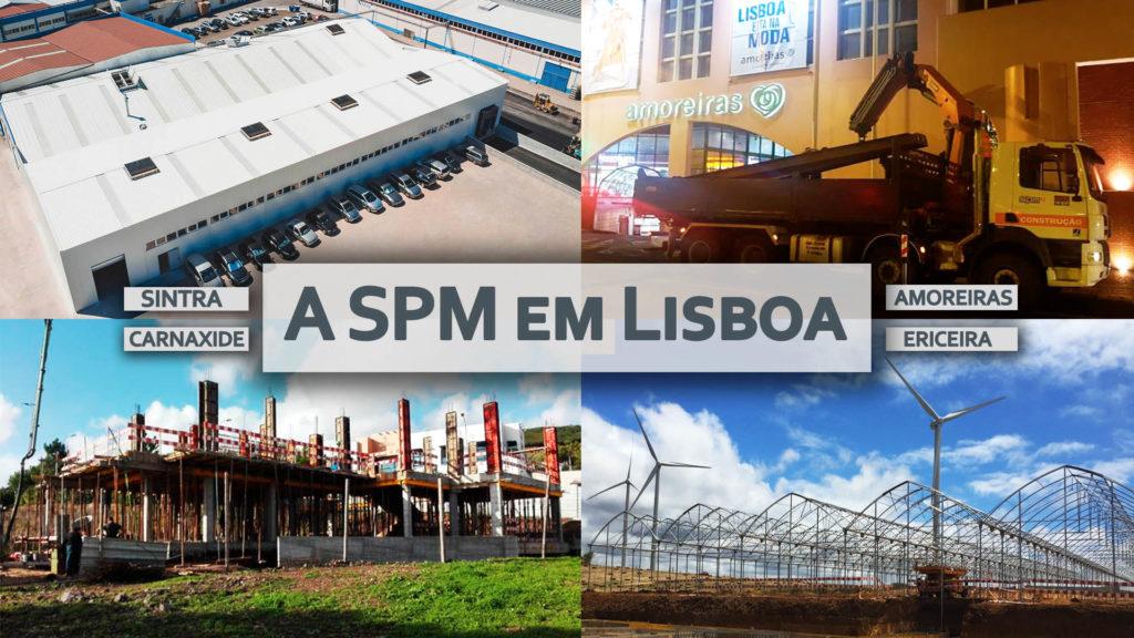 Que obras em Lisboa a SPM realiza?