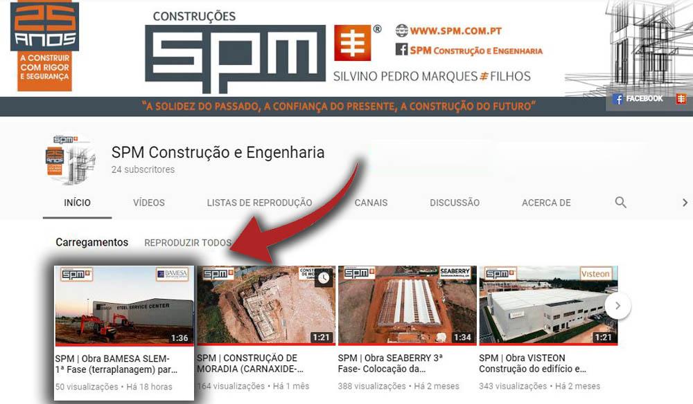 NOVO VIDEO: SPM | Obra BAMESA SLEM- 1ª Fase (terraplanagem) para a Ampliação do edifício!