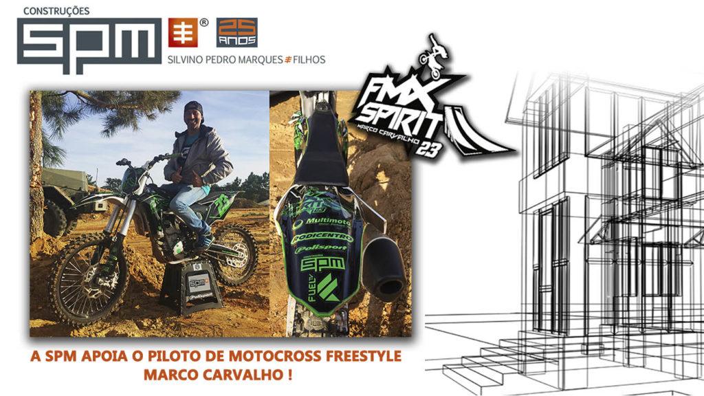 A SPM APOIA O PILOTO DE MOTOCROSS FREESTYLE MARCO CARVALHO!