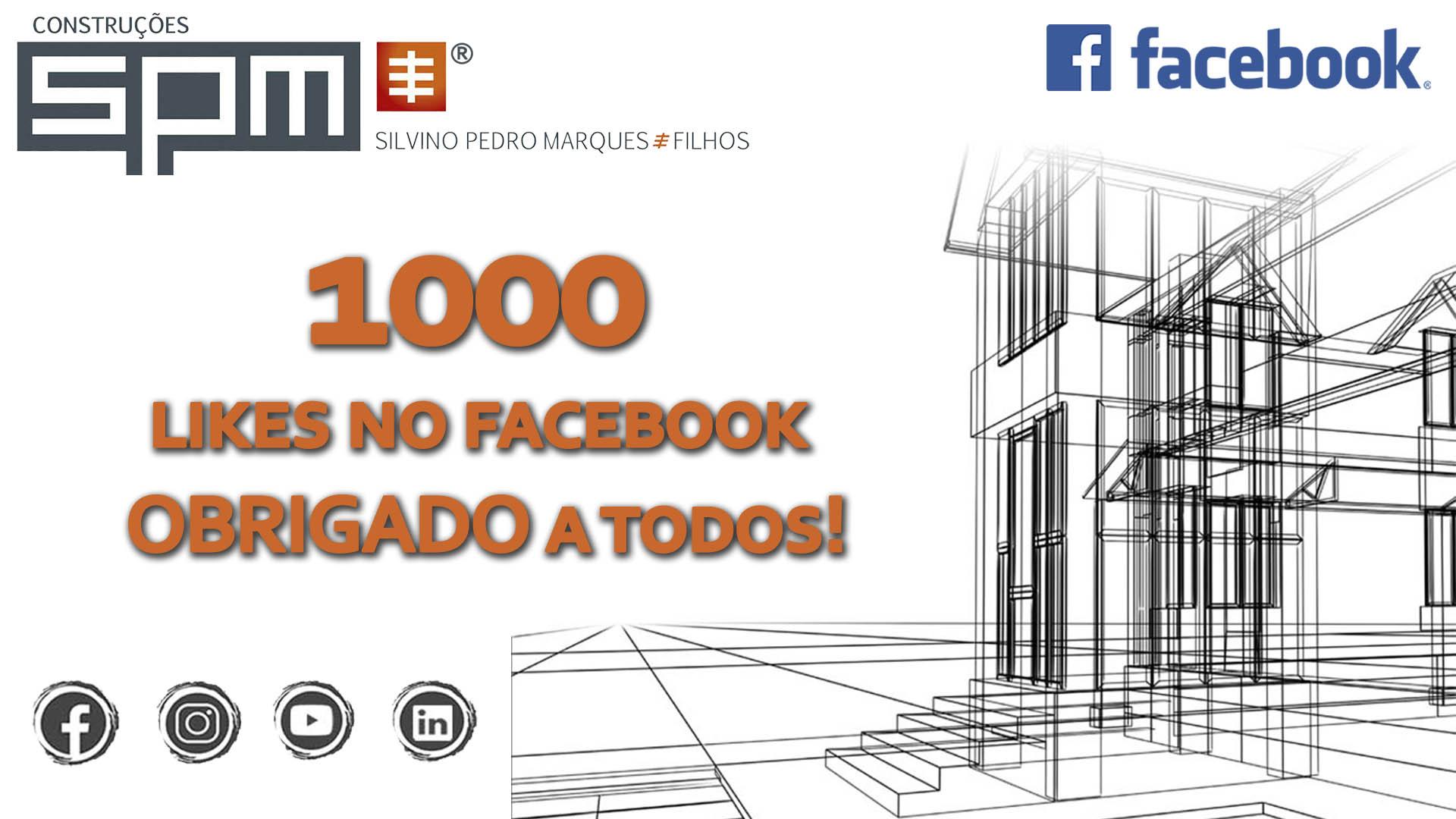 SPM | 1000 LIKES NO FACEBOOK, OBRIGADO!