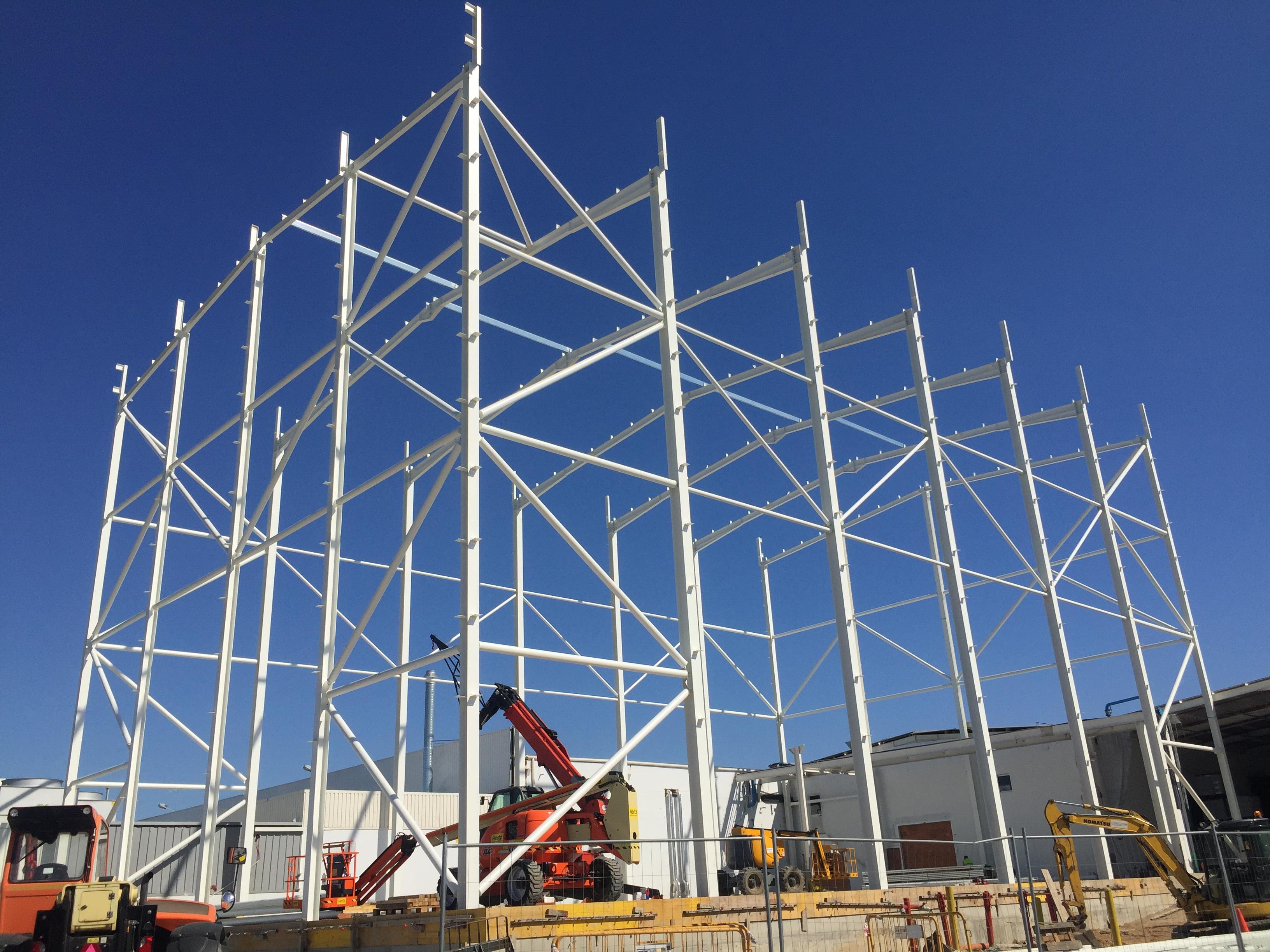 SPM | Novo projeto de engenharia a decorrer, novo edifício industrial com 20m de altura para a empresa Visteon! (Palmela-setubal)