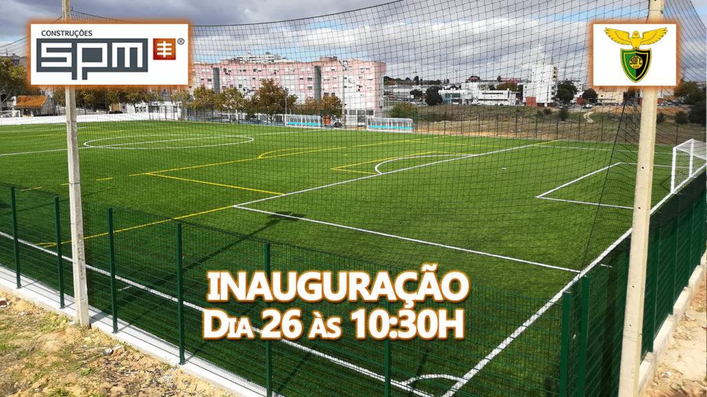Inauguração de novo campo para a equipa São Domingos Futebol Clube patrocinado pela SPM