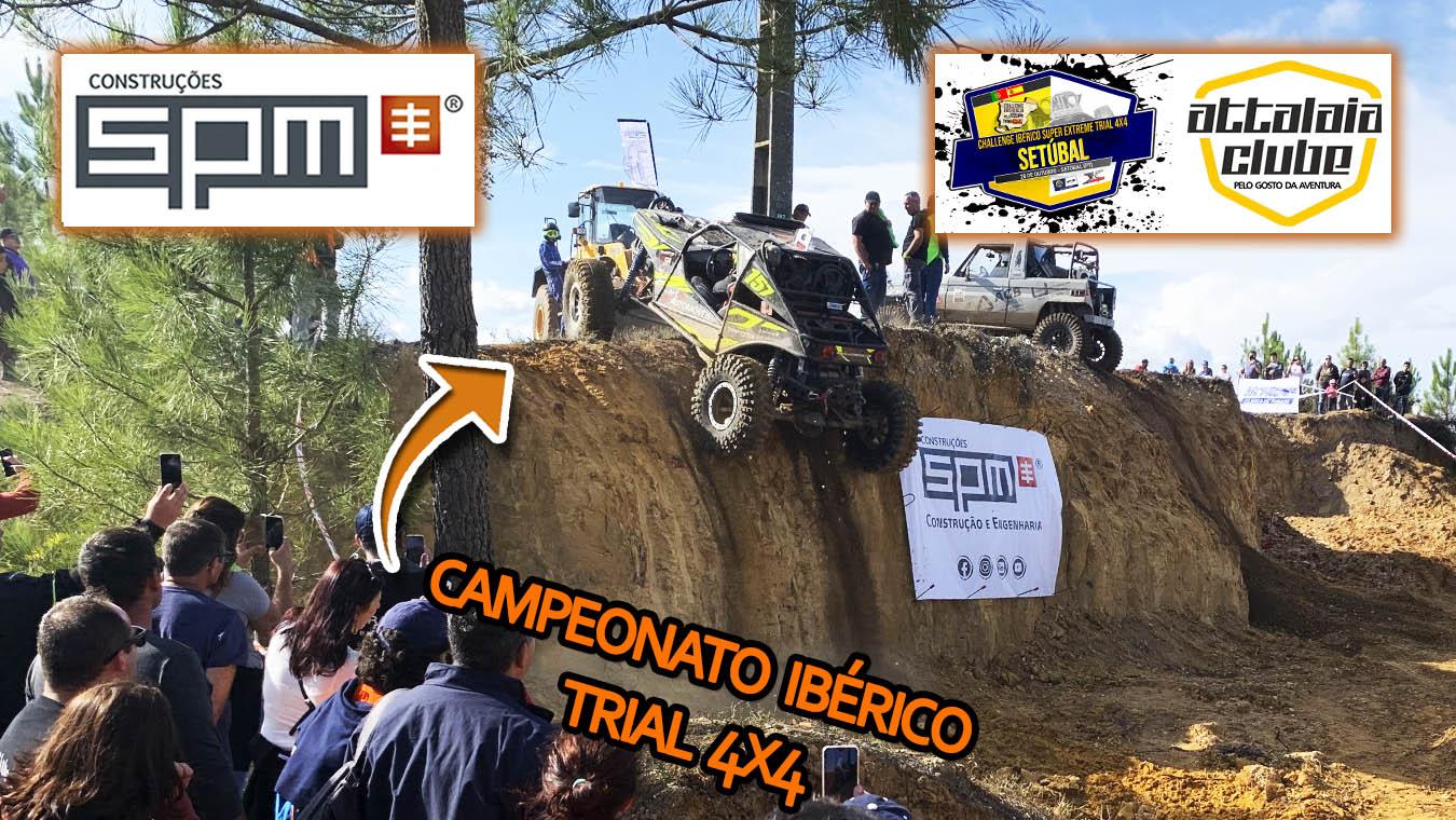 SPM PATROCINADOR OFICIAL DO CAMPEONATO IBÉRICO TRIAL 4X4!