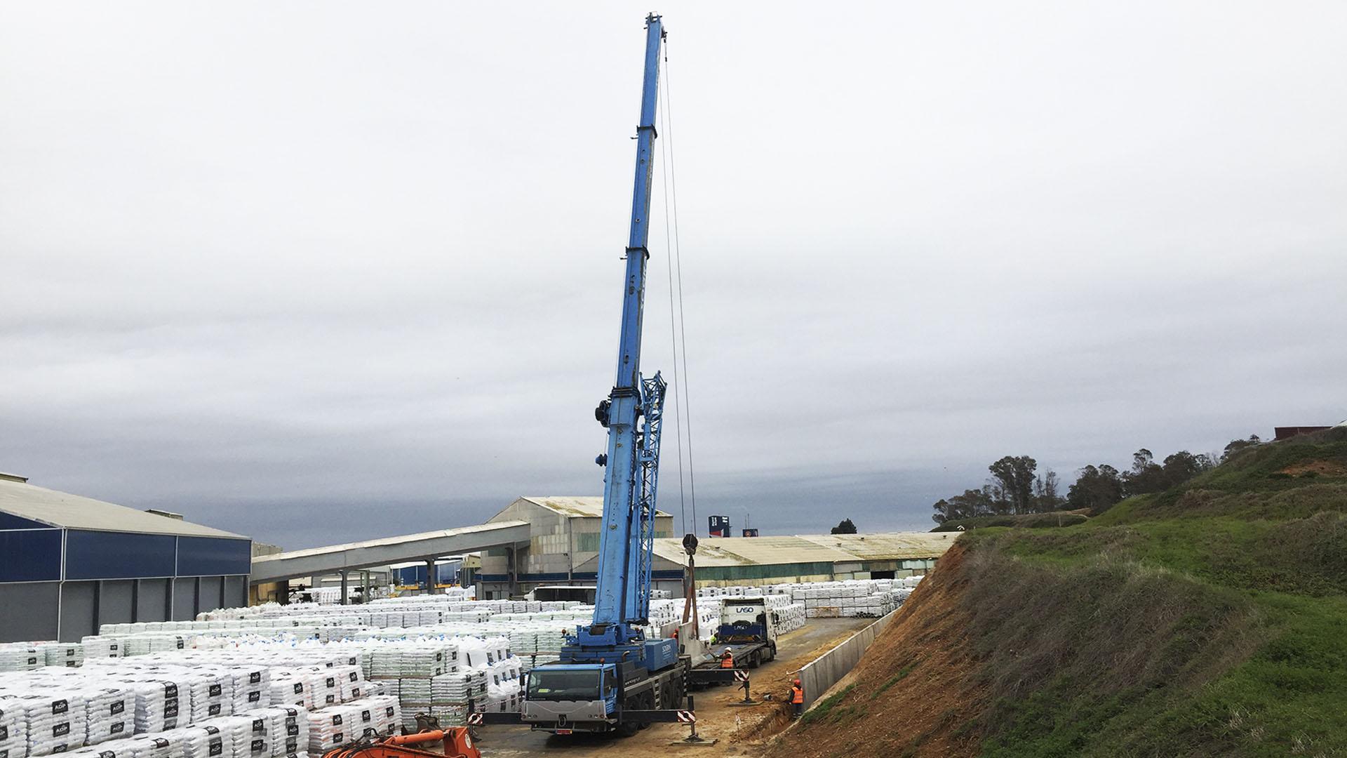 SPM | Execução de fundações para construção de novo armazém para a empresa SOPAC (Setúbal)