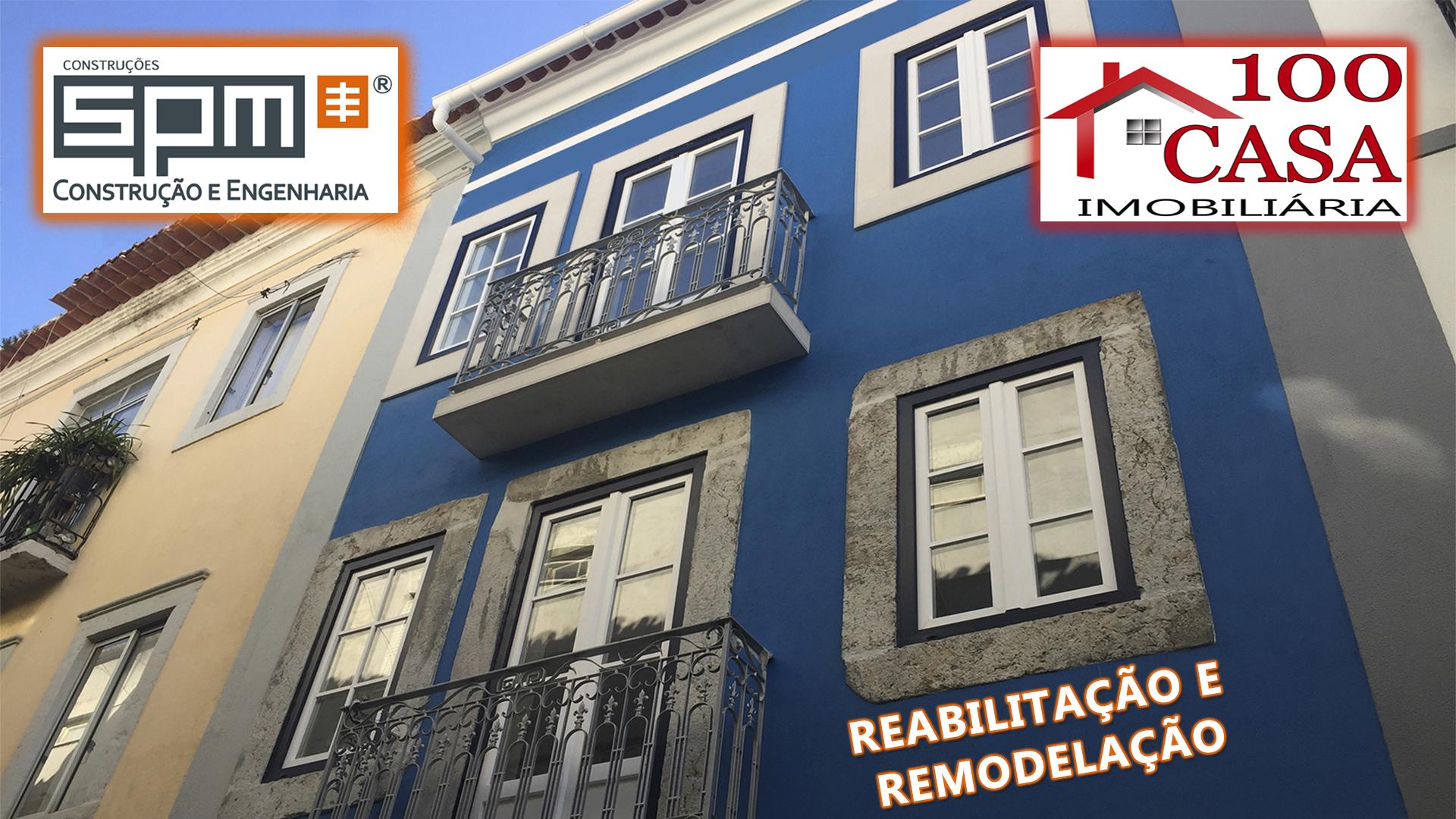 SPM | REABILITAÇÃO E REMODELAÇÃO DE PRÉDIO! (SETÚBAL, BAIXA COMERCIAL)