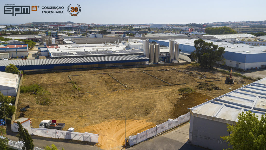 NOVO PROJETO! Terraplanagem e construção de novo armazém industrial em Lisboa!
